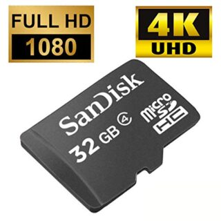 MicroSD 32GB Hidden Camera Memory Card