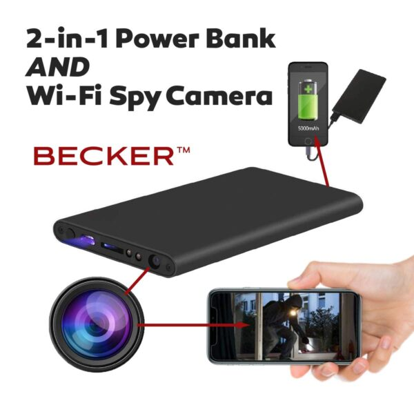 Power Bank Wifi Hidden Camera