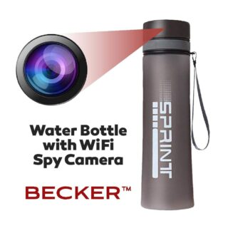 Bottle Spy Hidden Camera