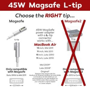 Mag1 L-tip 45W MacBook Charger