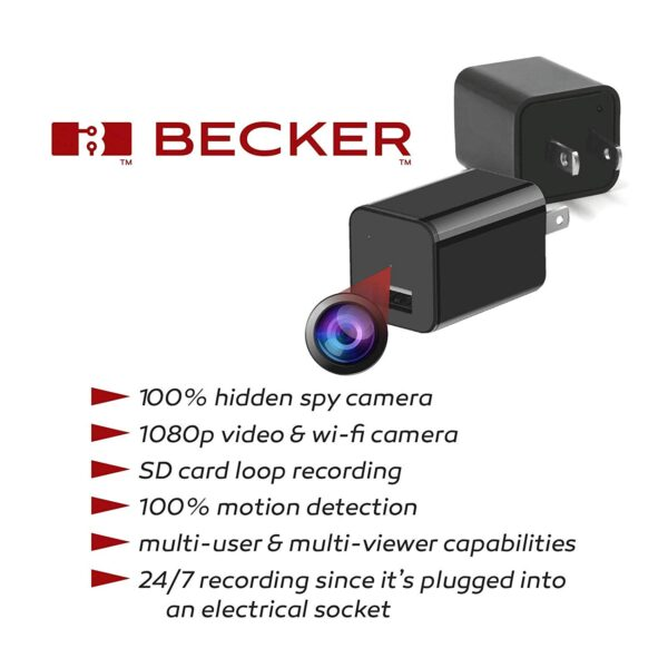 Charger Spy Camera 1080P HD